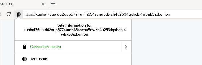 TLS certificate working